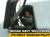 Video : Sub Lt Shivangi, 24, Makes History: First Woman Pilot Of Navy