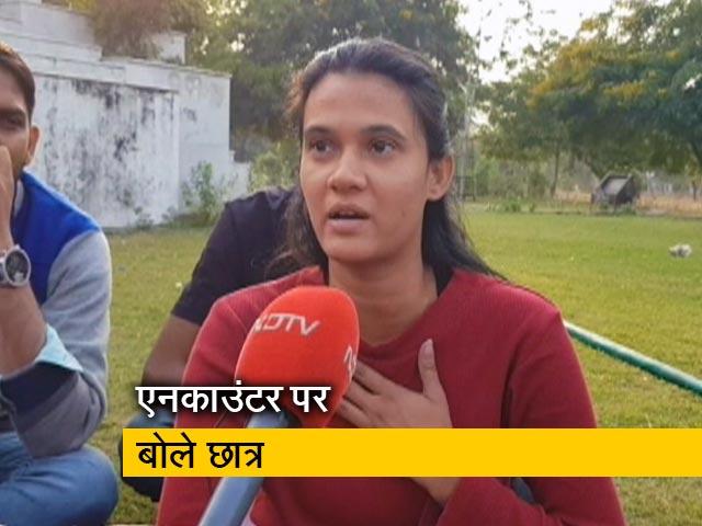 Videos : तेलंगाना एनकाउंटर पर राजस्थान यूनिवर्सिटी के छात्रों की राय क्या है?