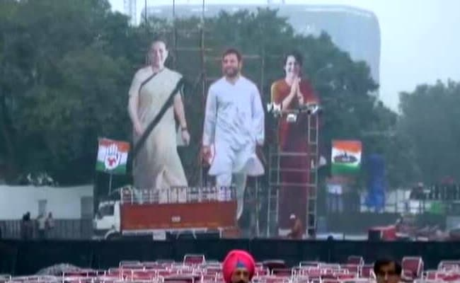 Traffic Advisory For Delhi In View Of Congress Mega Rally