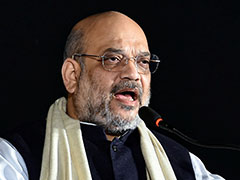 """Ban Amit Shah, Delete Videos"": AAP To Poll Body After BJP's School Swipe"