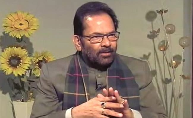 Mukhtar Abbas Naqvi Named Deputy Leader Of House In Rajya Sabha
