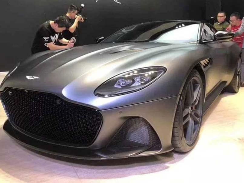 2019 Aston Martin Dbs Superleggera Image Leaked Ahead Of Its Debut