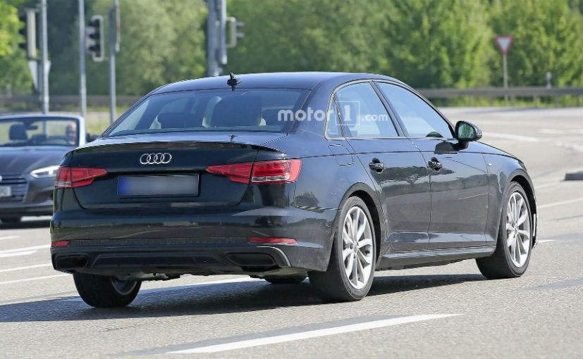 2019 Audi A4 Facelift Spotted For The Very First Time