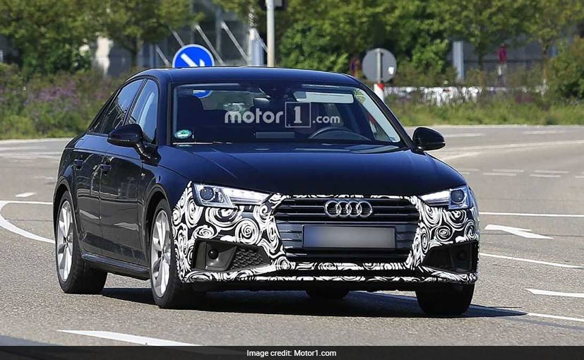 2019 audi a4 facelift spotted for the very first time. Black Bedroom Furniture Sets. Home Design Ideas