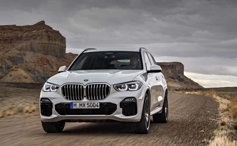 2019 BMW X5 Breaks Cover With Evolved Design And More Tech - NDTV