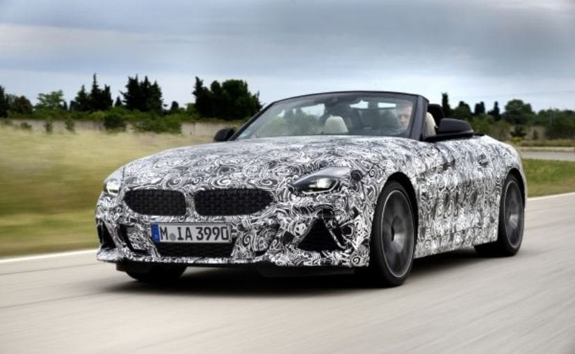 The new-gen BMW Z4 is being tested on the Bavarian carmaker's test centre in Miramas