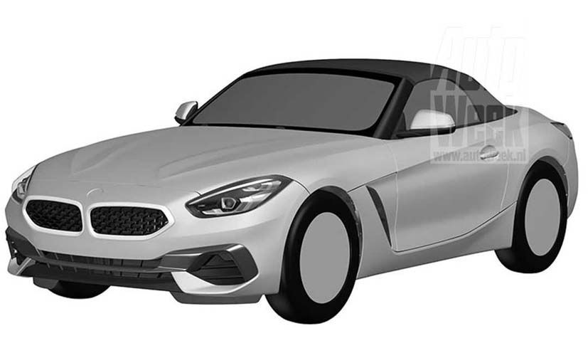 2019 Bmw Z4 Roadster Patent Images Leaked Ahead Of Debut Ndtv