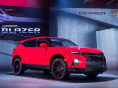2019 Chevrolet Blazer Breaks Cover