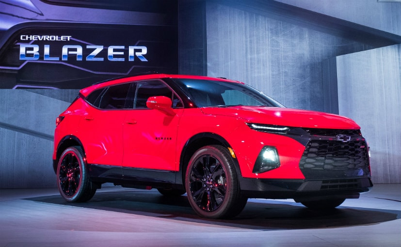 2019 Chevrolet Blazer Breaks Cover Ndtv Carandbike