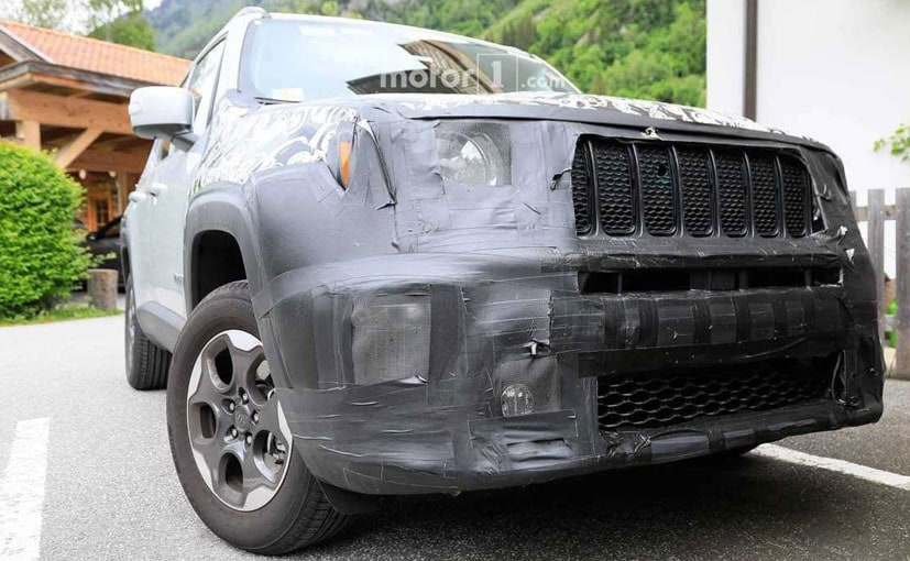 2019 Jeep Renegade Facelift Spied Again To Debut This Year In Us