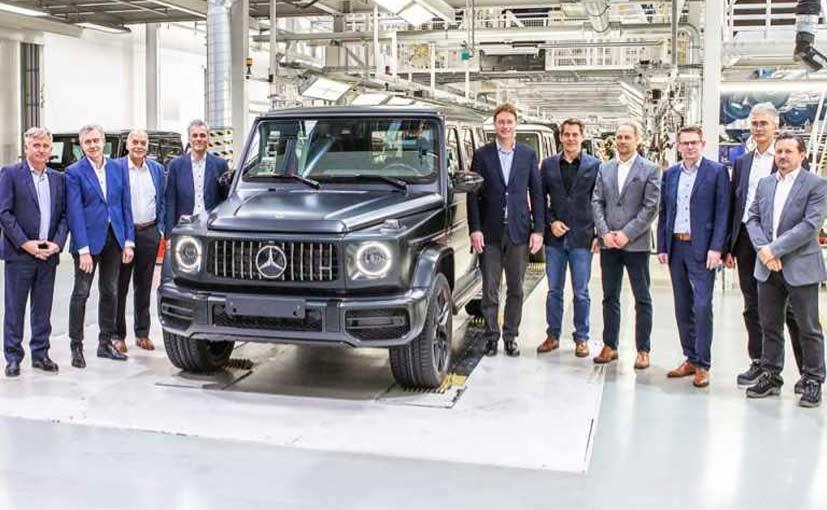 2019 Mercedes-Benz G-Class Production Starts In Austria