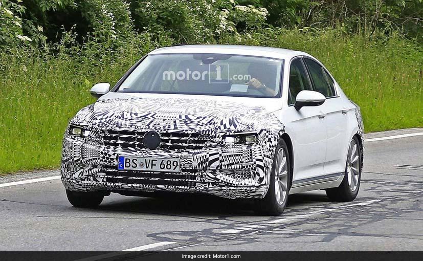 Volkswagen Passat Facelift Spied With Revised Front