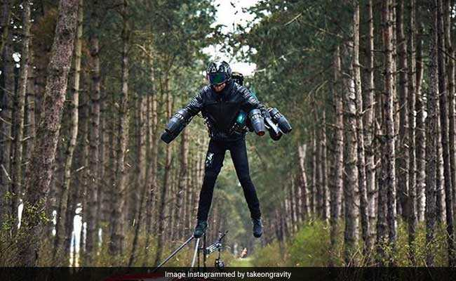 This Jet Suit Lets You Fly Around Like 'Iron Man'