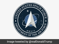 Trump Unveils US Space Force Logo, Mocked For Looking Like Star Trek Sign