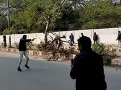 As Teen Pulls Gun At Jamia, Police Watch, Don't Rush Into Action