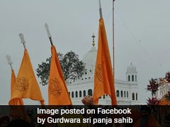Around 3,000 Indian Sikhs To Visit Gurdwara Panja Sahib In Pakistan