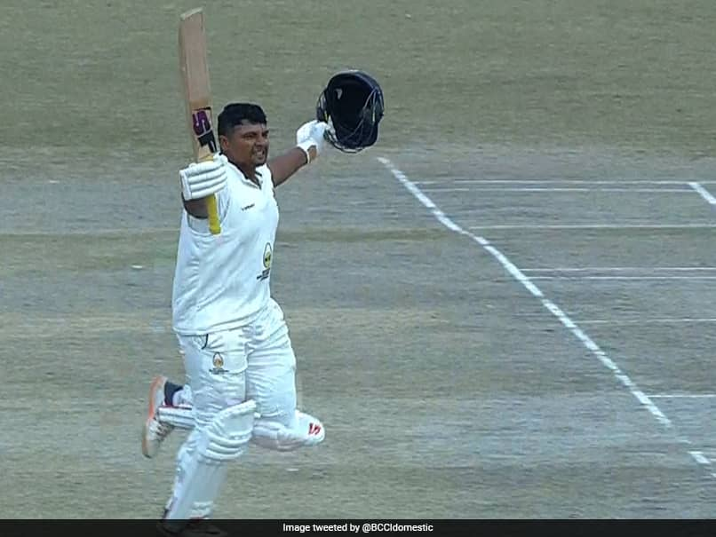 Ranji Trophy: Sarfaraz Khan Scores Double Hundred As Mumbai Dominate Himachal Pradesh
