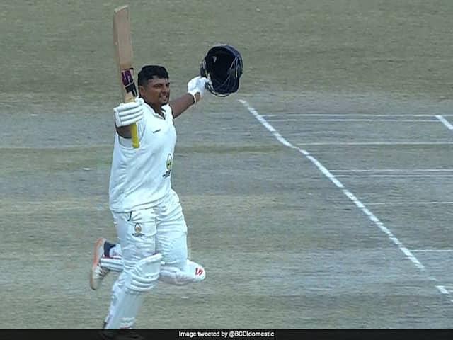 Ranji Trophy: Sarfaraz Khan Scores Double Hundred As Mumbai Dominate Himachal Pradesh