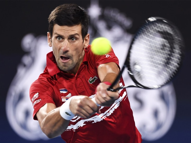 Novak Djokovic Insists No Clear Favourite For Australian Open