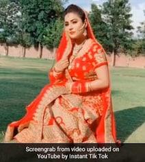 शहनाज गिल ने दुल्हन के गेटअप में मचाई धूम, बार-बार देखा जा रहा धमाकेदार Video
