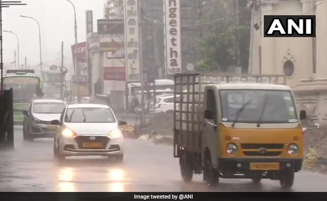 New Year Begins With Rain Shower In Chennai, Delights Residents