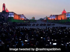 Colourful Beating Retreat Ceremony Marks End Of Republic Day Celebration