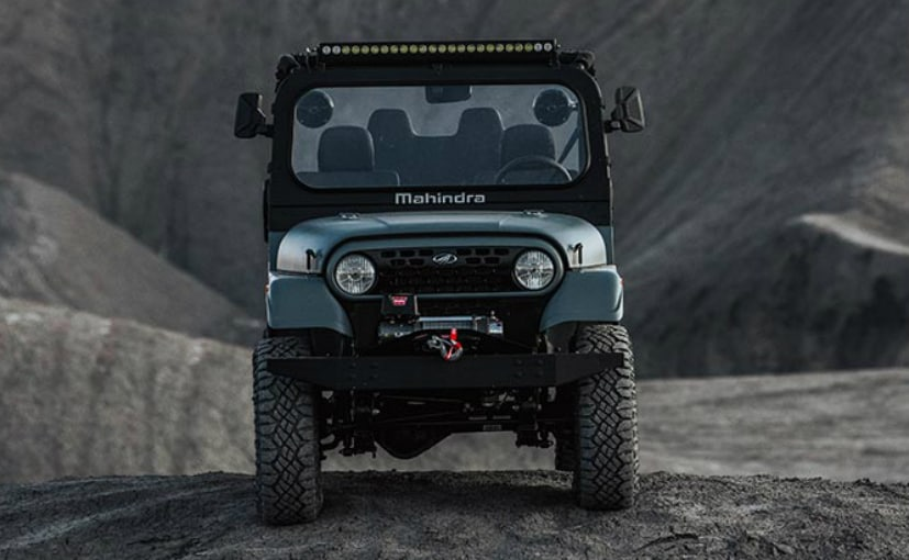 The Mahindra Roxor is not sold in India. It is based on the Mahindra Thar though