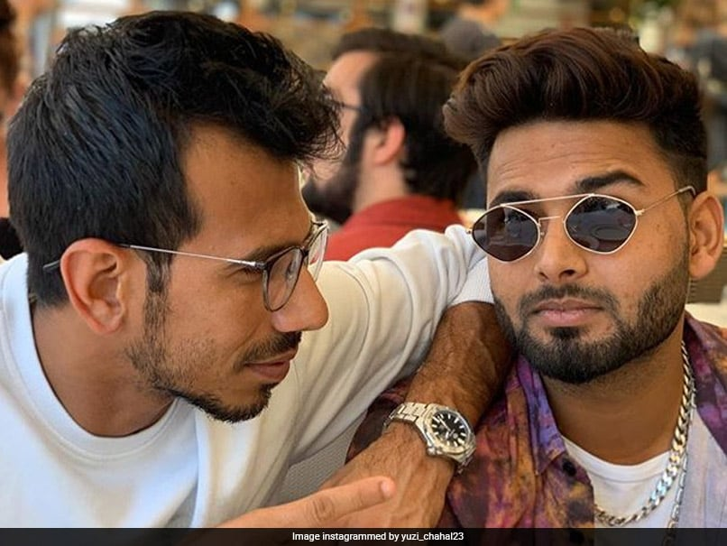 Yuzvendra Chahal Shares Pictures With Rishabh Pant, Danielle Wyatts Reaction Wins Internet