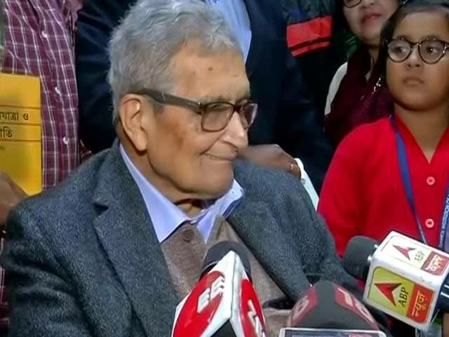 "Video : Amartya Sen On ""Opposition Unity"" Amid CAA Protests, Other Top Stories"