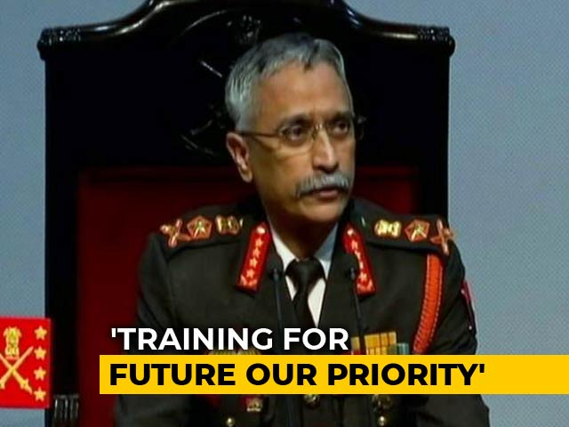"Video : ""Justice, Liberty, Equality"": Army Chief Quotes Preamble To Constitution"