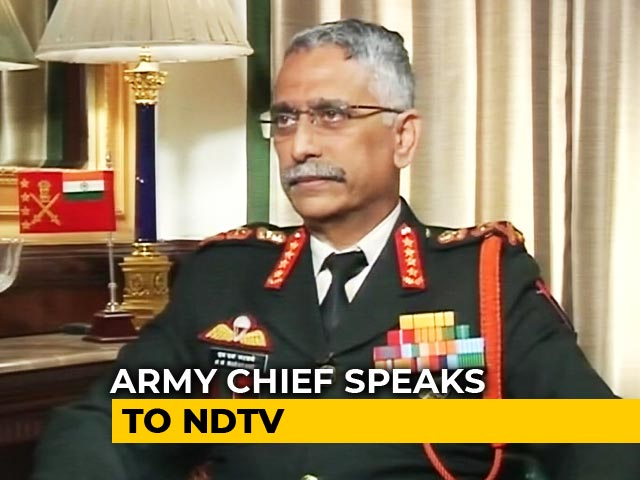 Video : Ready To Target PoK If Asked: New Army Chief To NDTV