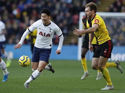 Watford vs Tottenham Hotspur: Watford Hold Tottenham Hotspur To Goalless Draw