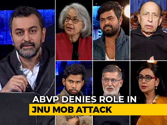 Video : Watch: Photos And WhatsApp Groups As Clues To JNU Attack