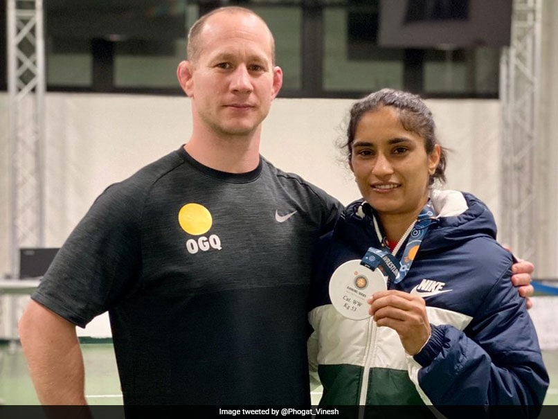 Vinesh Phogat Says Gold Medal In Rome Shows She Is On Right Track For Tokyo Olympics