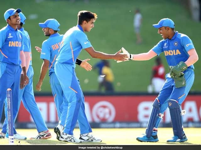 Under-19 World Cup 2020: India Start Title Defence With 90-Run Win Over Sri Lanka