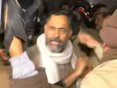 "Manhandled Outside JNU, Yogendra Yadav Asks Cops To ""Take Off Uniforms"""