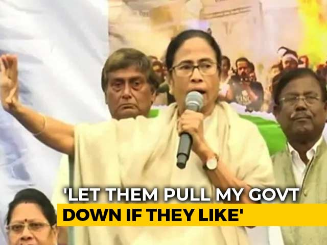 "Video : ""Let Them..."": Mamata Banerjee Draws Battlelines Over Population Register"