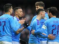 FA Cup: Gabriel Jesus Brace Helps Manchester City Thrash 10-Man Fulham 4-0