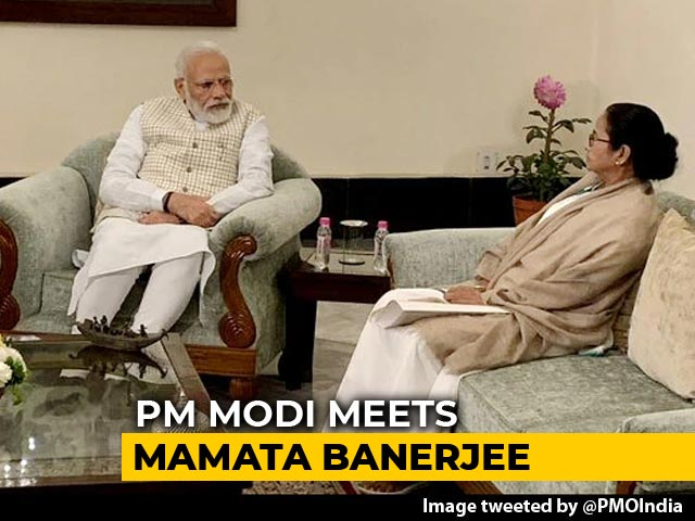 Video: Mamata Banerjee Meets PM Modi, Asks Him To Rethink CAA, Citizens' List