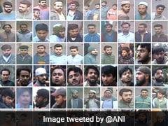 Delhi Cops Release Photos Of 70 People Charged With Rioting Outside Jamia