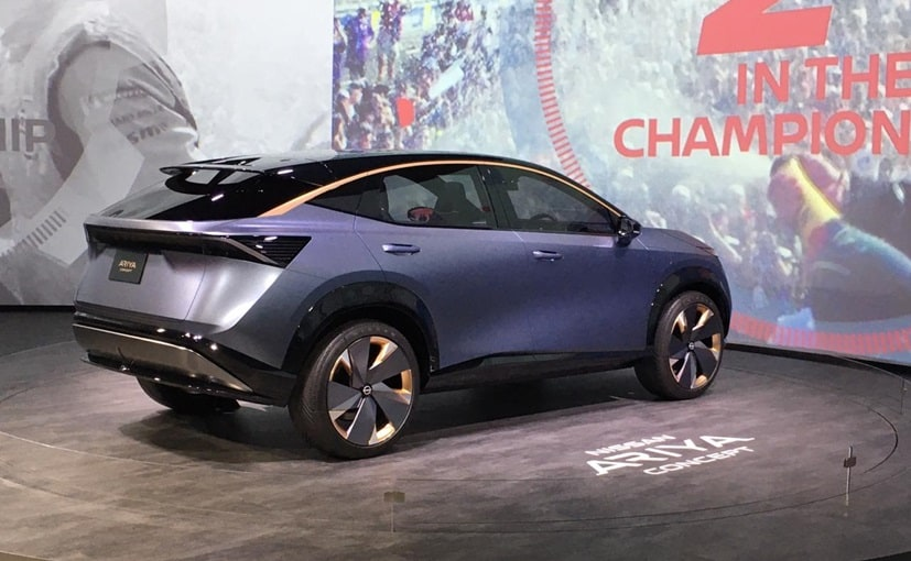 CES 2020: Nissan Ariya Electric Concept Makes US Debut