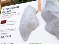 Artificial Lungs Put Up In Mumbai Start Turning Black Within A Week