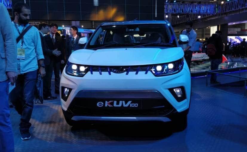 The Mahindra eKUV100 has been internally codenamed S110
