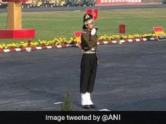 Indian Army Day: Captain Tania Shergill Leads All-Men Contingent In Army Day Parade