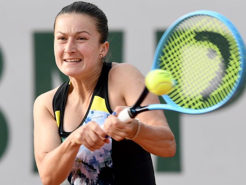 Melbourne smoke causes Slovenian tennis player Dalila Jakupovic's coughing fit