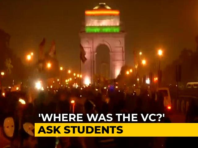 Video : Protests Across India Over JNU Attack, No Arrests Yet