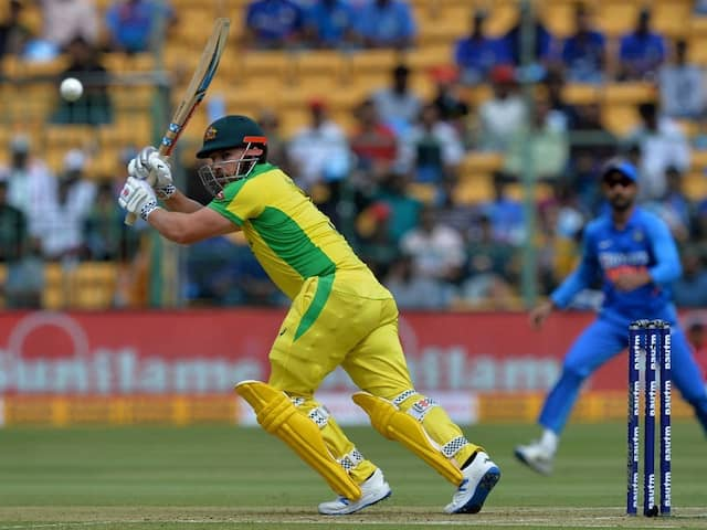 """""""Momentum Kept Getting Stalled"""": Aaron Finch On Series Decider Loss To India"""