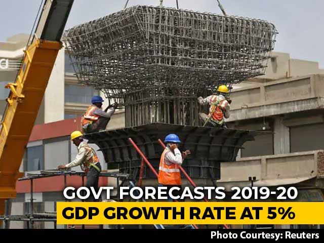 Video : GDP Growth For This Year At 5%, Says Government, Slowest In 11 Years