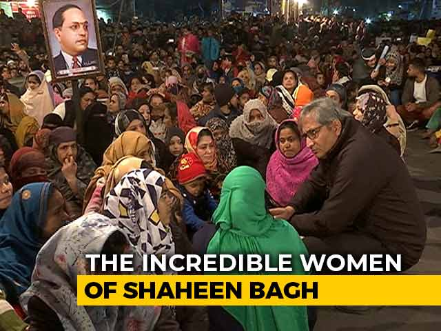 Video : Ravish's Ground Report On The Unshakeable Women Of Delhi's Shaheen Bagh