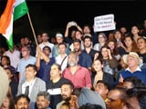 Video : Bollywood's Protest Ends With The National Anthem